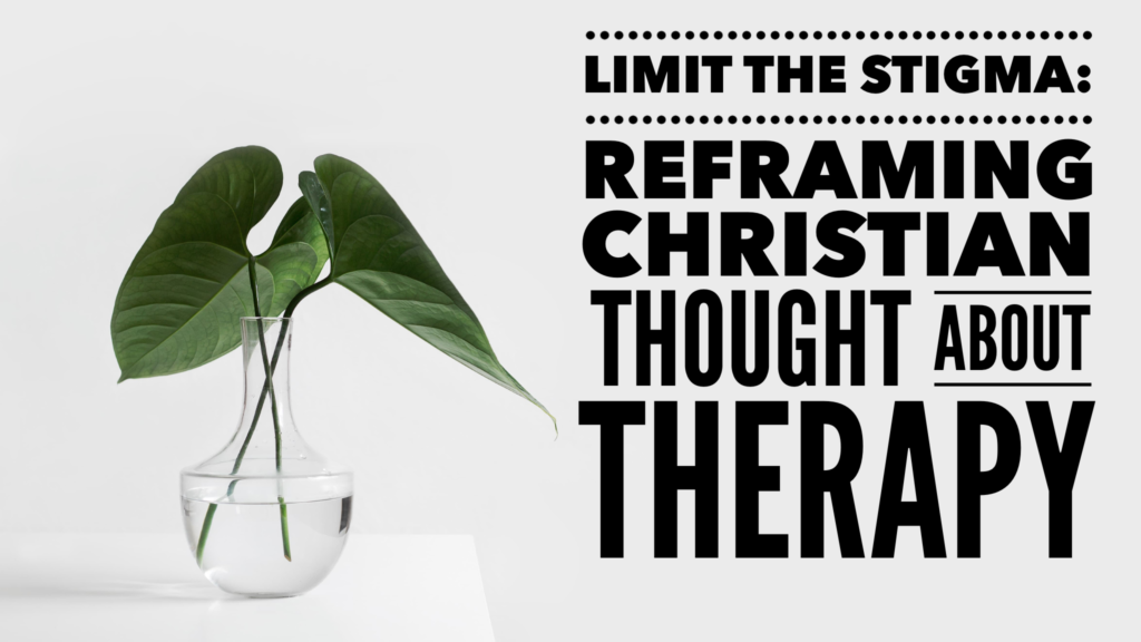 Reframing Christian Through About Therapy - Church, Please!